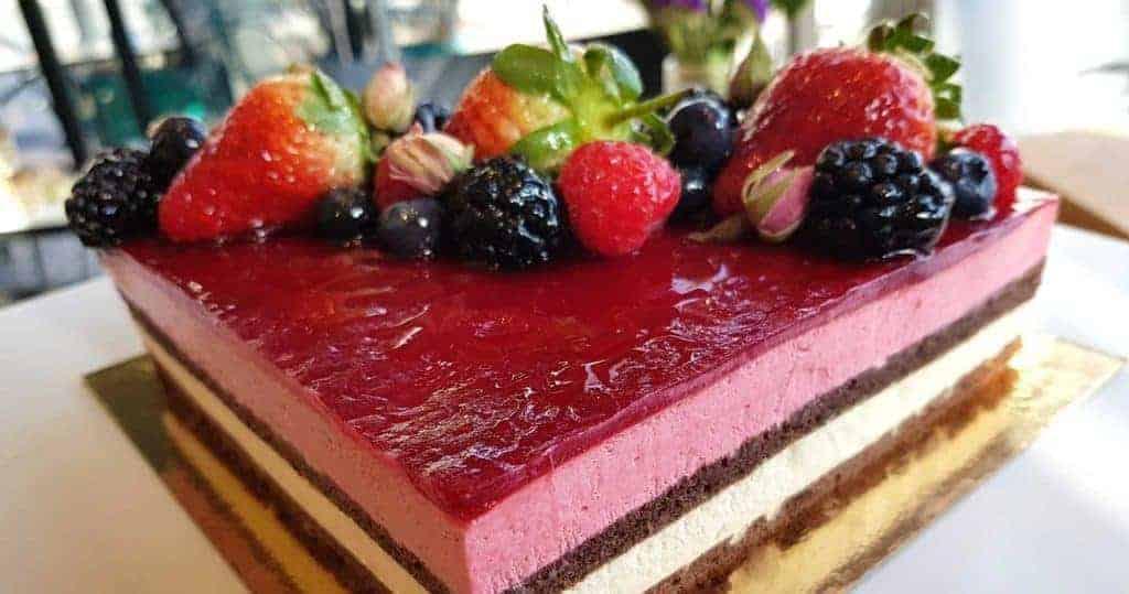 Chateau Chiswick amazing desserts
