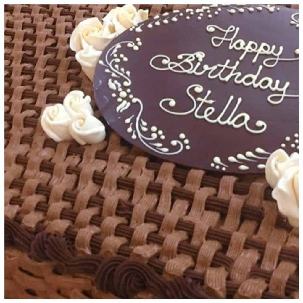 Brilliant Special Order Cakes Chateau Personalised Birthday Cards Veneteletsinfo