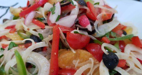 Chateau Chiswick, fresh salad